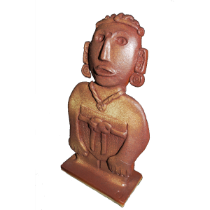 Figure Aztec Female Ceramics