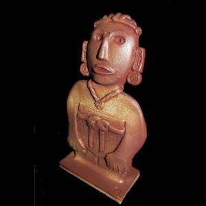 Figure Aztec Female Ceramics