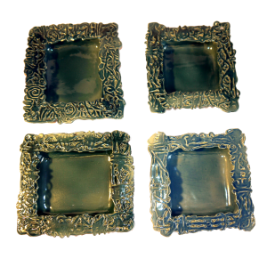 Square Dishes Ceramics