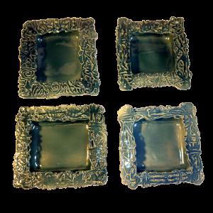 Square Dishes Ceramics