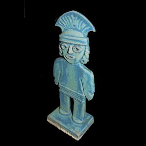 Figure Aztec Male Ceramics