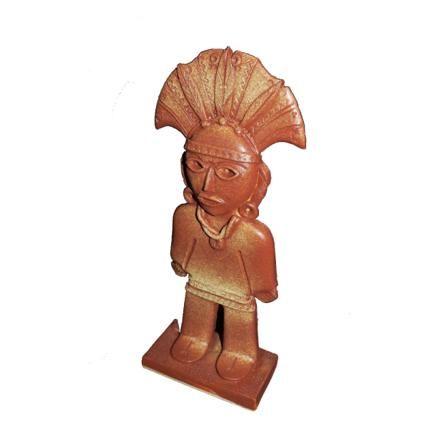 Figure Aztec Male Ceramics