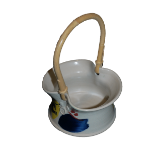 Cane Handled Dish Ceramics