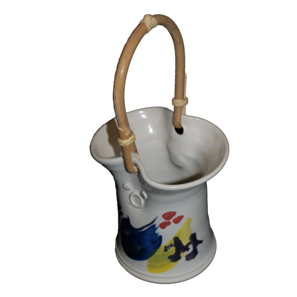 Decorated Posy Pot Ceramics