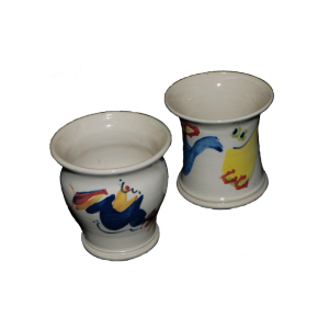 Decorated Small Vases Ceramics
