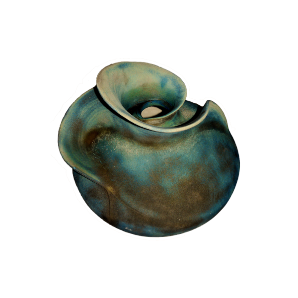 Large Flanged Form Ceramics