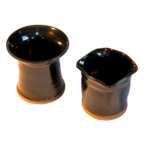 Small Black Vases