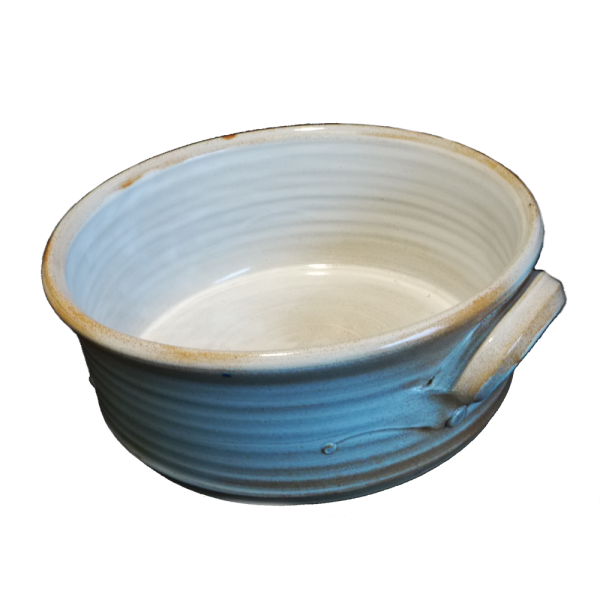 Round Handled Dish Ceramics