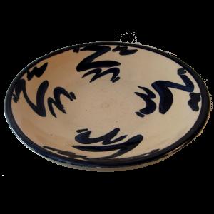 Dish White Glaze Ceramics