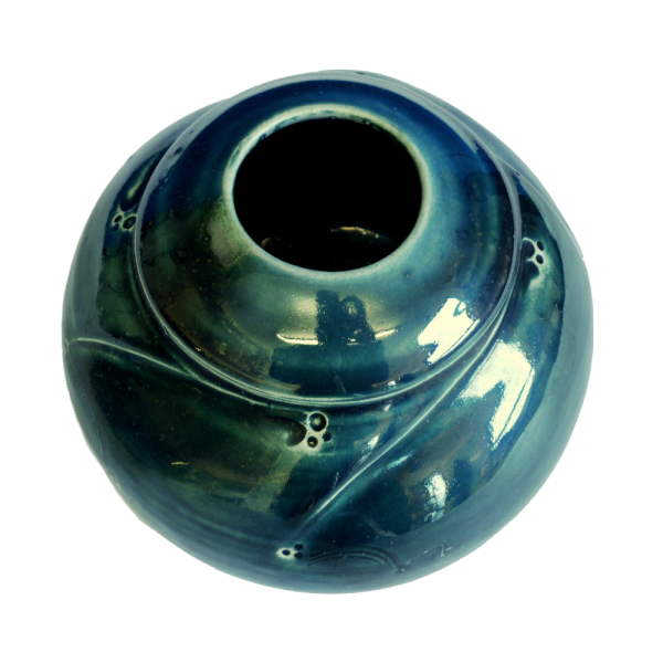 Vase Blue Green Ceramics