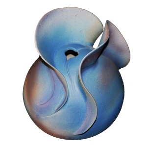 Wave Form Vase Ceramics
