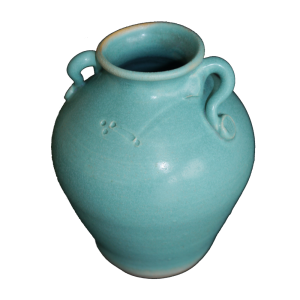 small handled vase ceramics