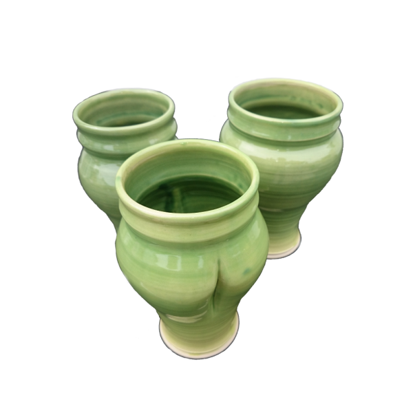 Green Vases Ceramics