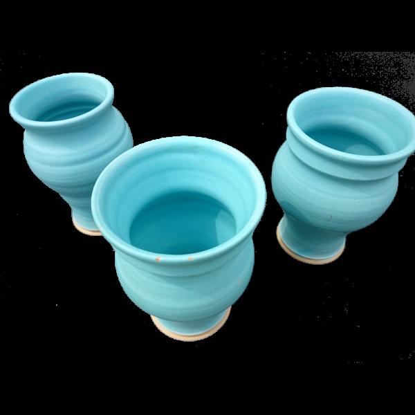Turquoise Vases New Shape Ceramics