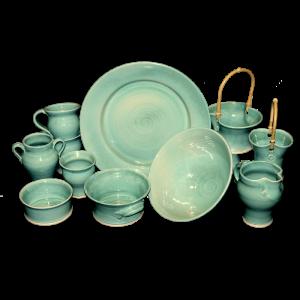Turquoise-Tableware Ceramics