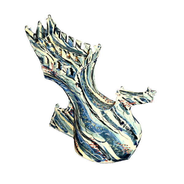 Metamorphic-Vessel-Form Ceramics