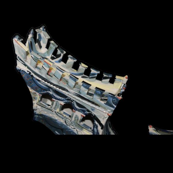 Metamorphic Vessel Form 2 Ceramics